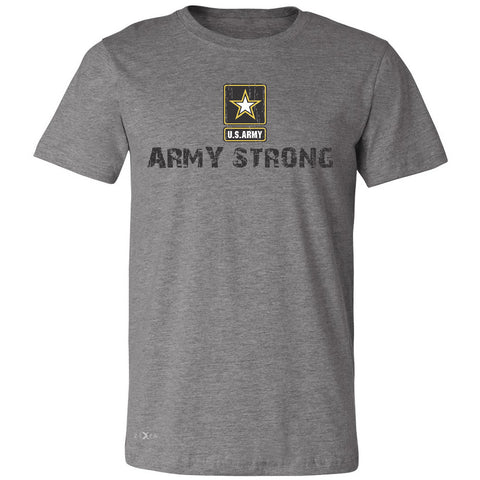 Army Strong US Army Unisex - Men's T-shirt Military Star Cool Tee - Zexpa Apparel Halloween Christmas Shirts