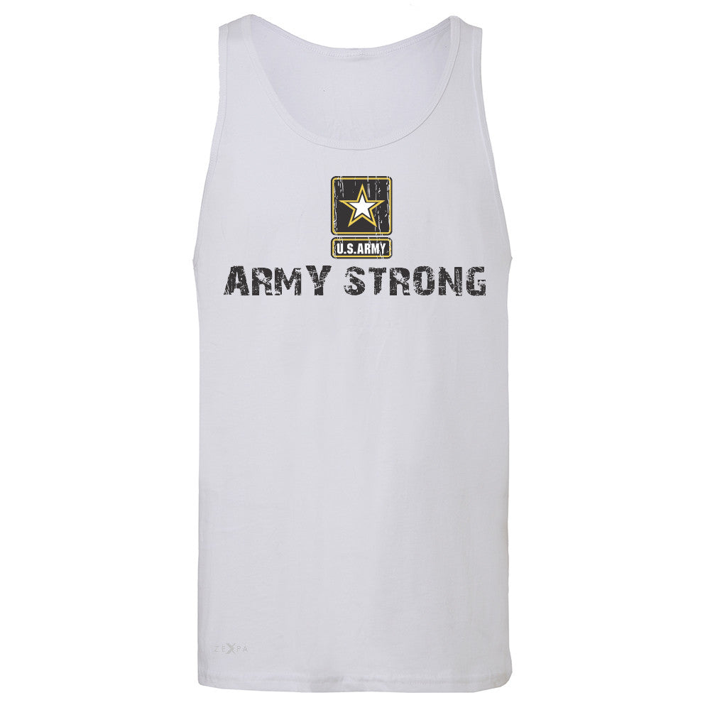 Army Strong US Army Unisex - Men's Jersey Tank Military Star Cool Sleeveless - Zexpa Apparel Halloween Christmas Shirts