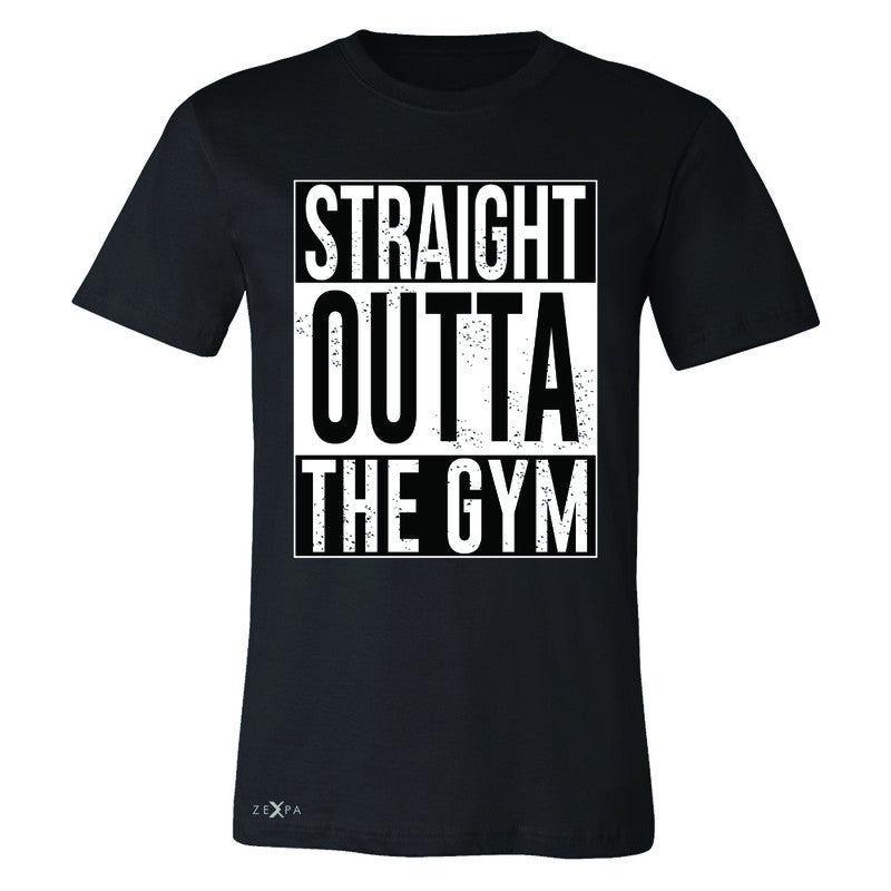Straight Outta The Gym Men's T-shirt Workout Fitness Bodybuild Tee - Zexpa Apparel - 1