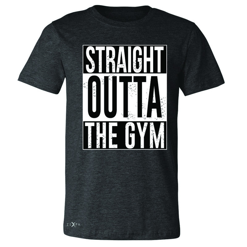 Straight Outta The Gym Men's T-shirt Workout Fitness Bodybuild Tee - Zexpa Apparel - 2