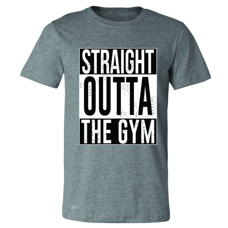 Straight Outta The Gym Men's T-shirt Workout Fitness Bodybuild Tee - Zexpa Apparel - 3