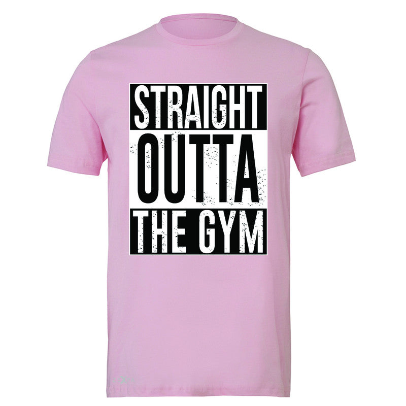 Straight Outta The Gym Men's T-shirt Workout Fitness Bodybuild Tee - Zexpa Apparel - 4