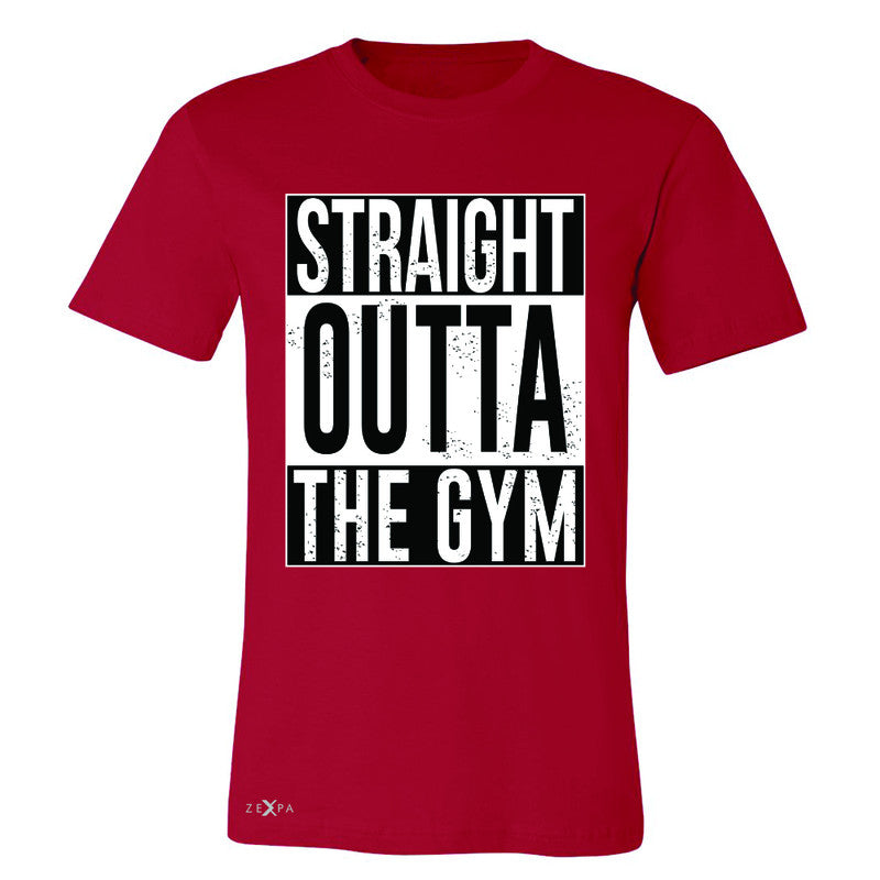 Straight Outta The Gym Men's T-shirt Workout Fitness Bodybuild Tee - Zexpa Apparel - 5