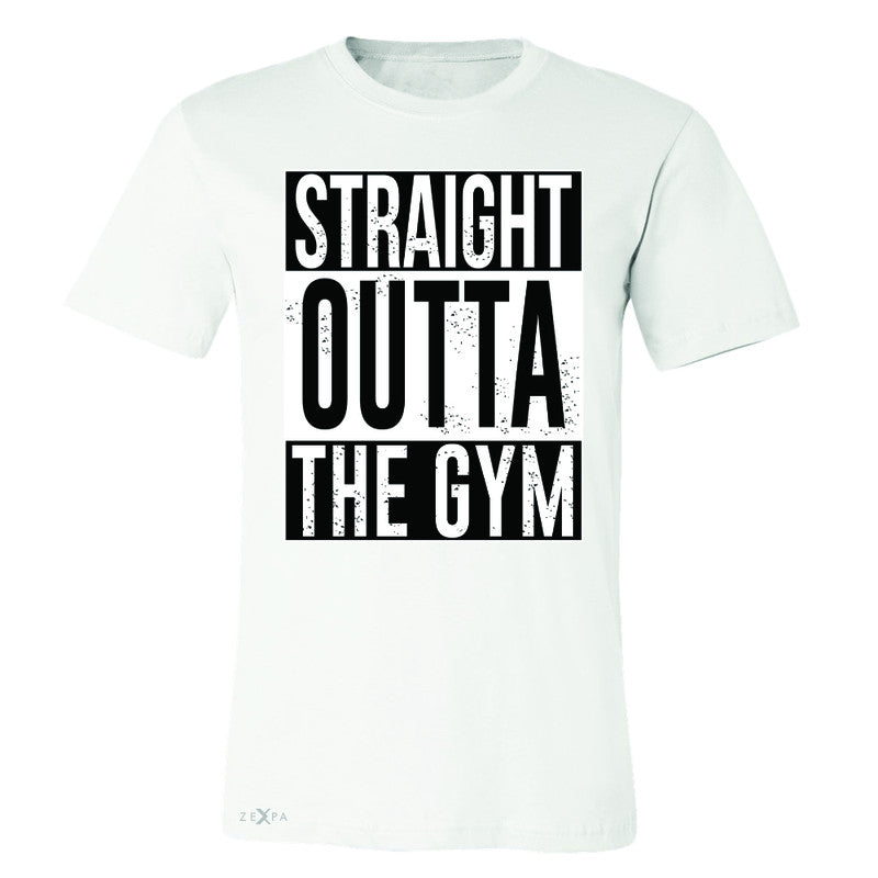 Straight Outta The Gym Men's T-shirt Workout Fitness Bodybuild Tee - Zexpa Apparel - 6