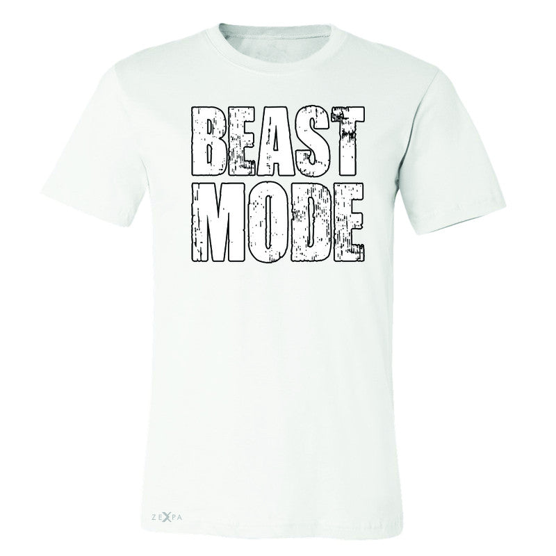 Beast Mode On  Men's T-shirt Workout Fitness Bodybuild Tee - Zexpa Apparel Halloween Christmas Shirts