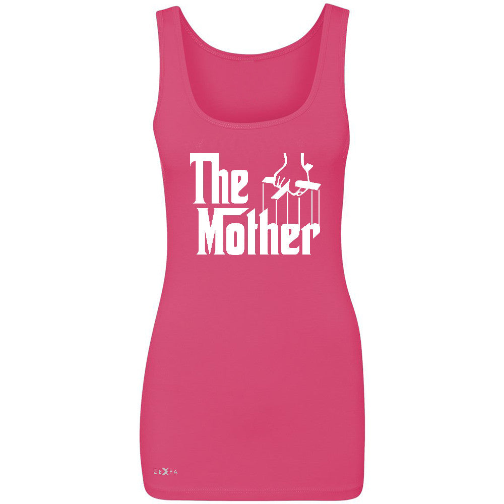 The Mother Godfather Women's Tank Top Couple Matching Mother's Day Sleeveless - Zexpa Apparel - 2
