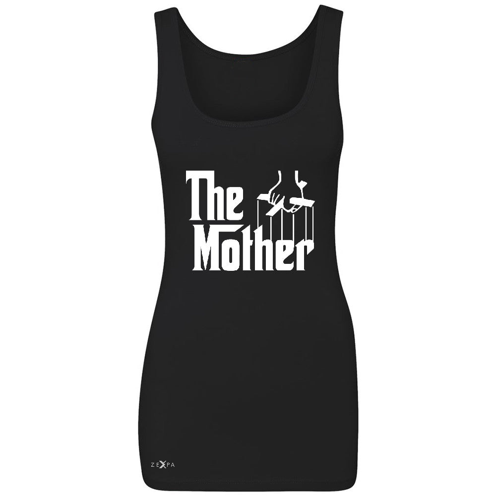 The Mother Godfather Women's Tank Top Couple Matching Mother's Day Sleeveless - Zexpa Apparel - 1