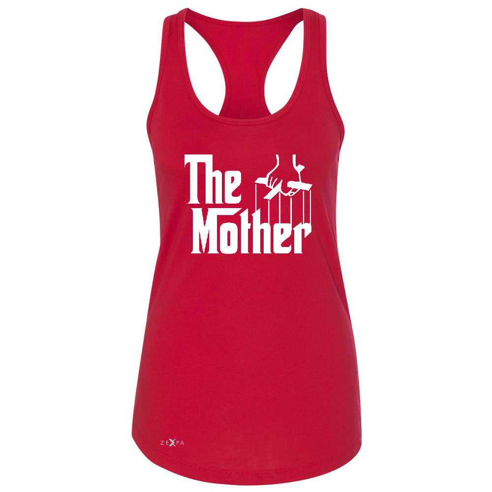The Mother Godfather Women's Racerback Couple Matching Mother's Day Sleeveless - Zexpa Apparel - 3