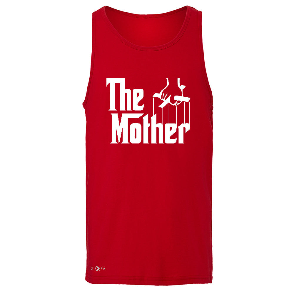 The Mother Godfather Men's Jersey Tank Couple Matching Mother's Day Sleeveless - Zexpa Apparel - 4