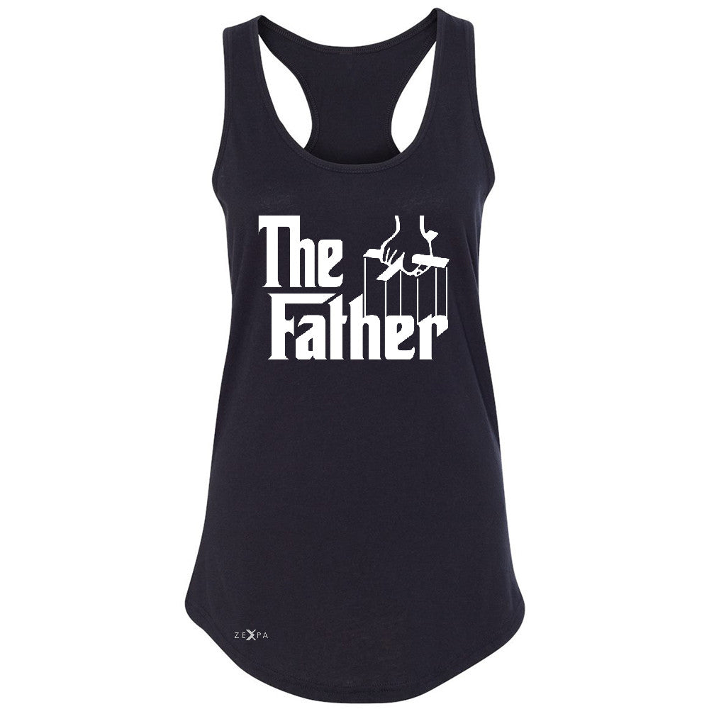 The Father Godfather Women's Racerback Couple Matching Mother's Day Sleeveless - Zexpa Apparel - 1