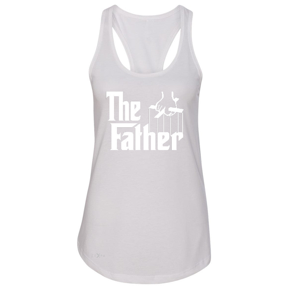 The Father Godfather Women's Racerback Couple Matching Mother's Day Sleeveless - Zexpa Apparel - 4