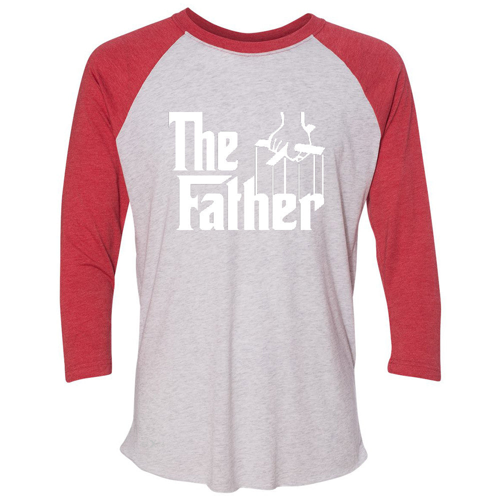 The Father Godfather 3/4 Sleevee Raglan Tee Couple Matching Mother's Day Tee - Zexpa Apparel - 2