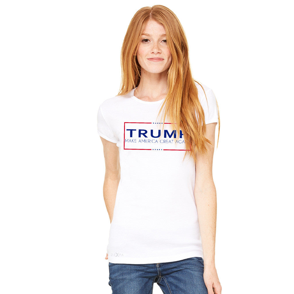 Donald Trump Make America Great Again Campaign Classic Desing Women's T-shirt Elections Tee - zexpaapparel - 10