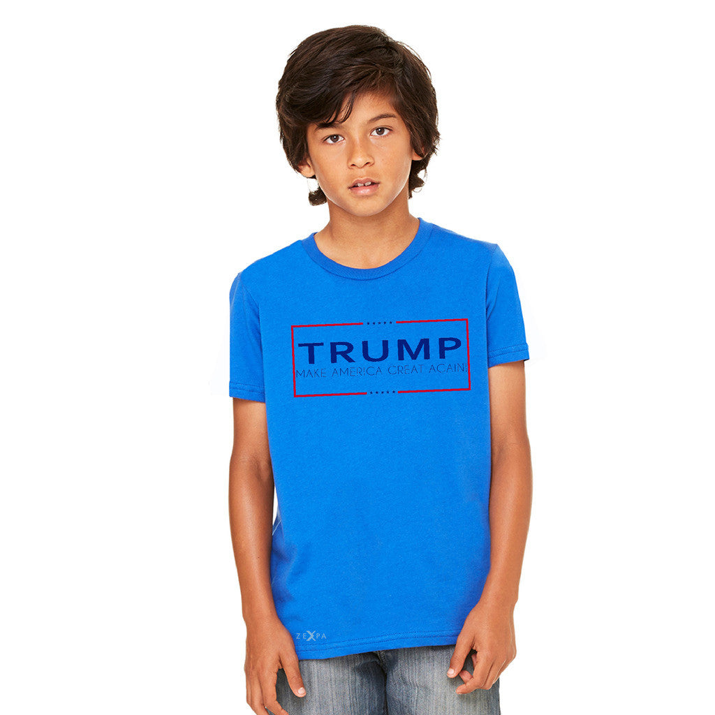 Donald Trump Make America Great Again Campaign Classic Desing Youth T-shirt Elections Tee - zexpaapparel - 6