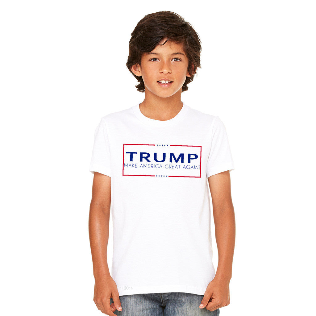 Donald Trump Make America Great Again Campaign Classic Desing Youth T-shirt Elections Tee - zexpaapparel - 7