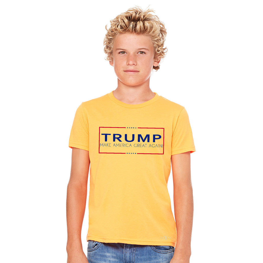 Donald Trump Make America Great Again Campaign Classic Desing Youth T-shirt Elections Tee - zexpaapparel - 8