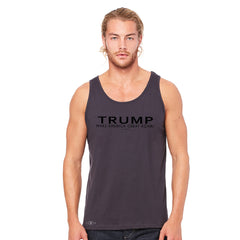 Donald Trump Make America Great Again Campaign Classic Black Design Men's Jersey Tank Elections Sleeveless - Zexpa Apparel Halloween Christmas Shirts