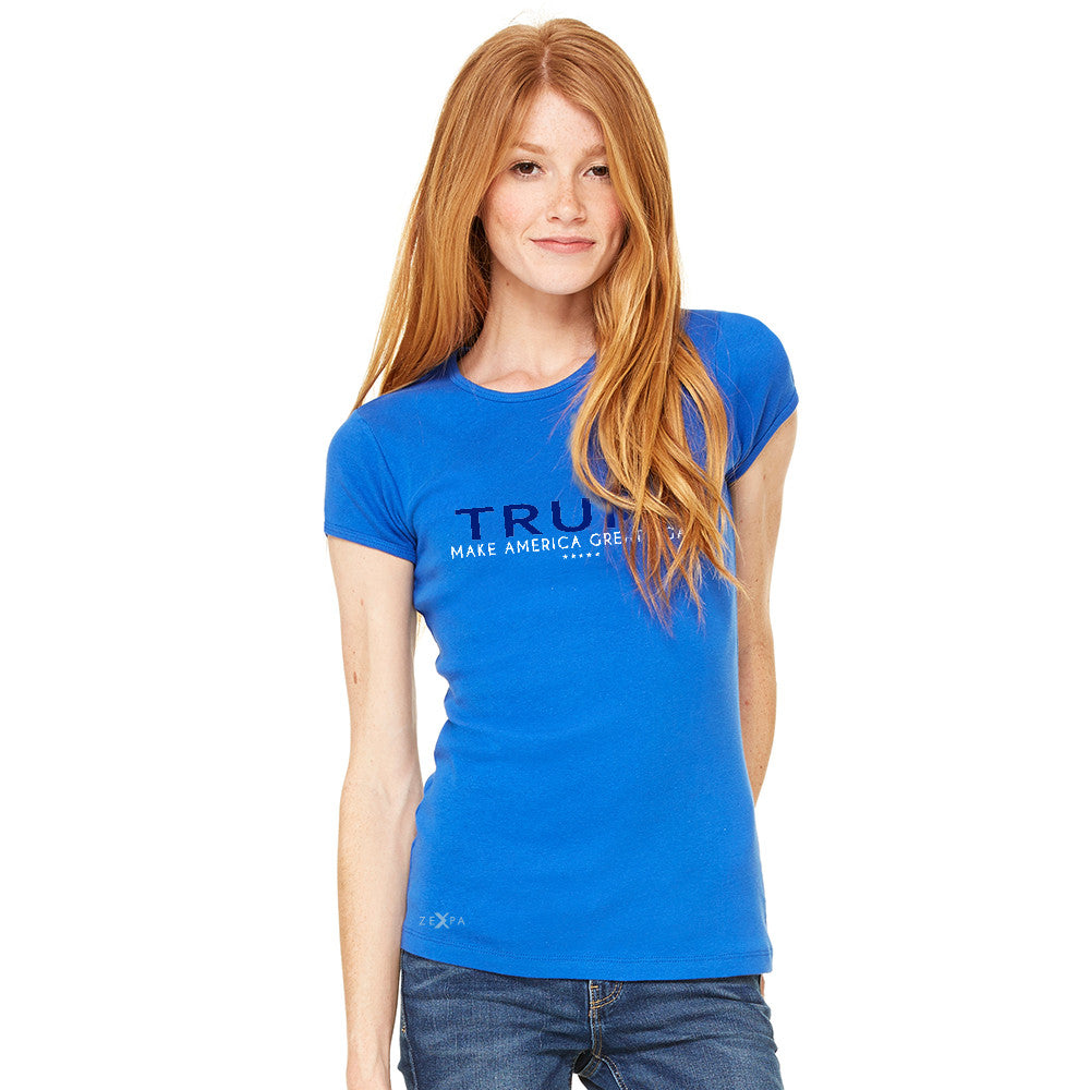 Donald Trump Make America Great Again Campaign Classic Design Women's T-shirt Elections Tee - Zexpa Apparel - 8