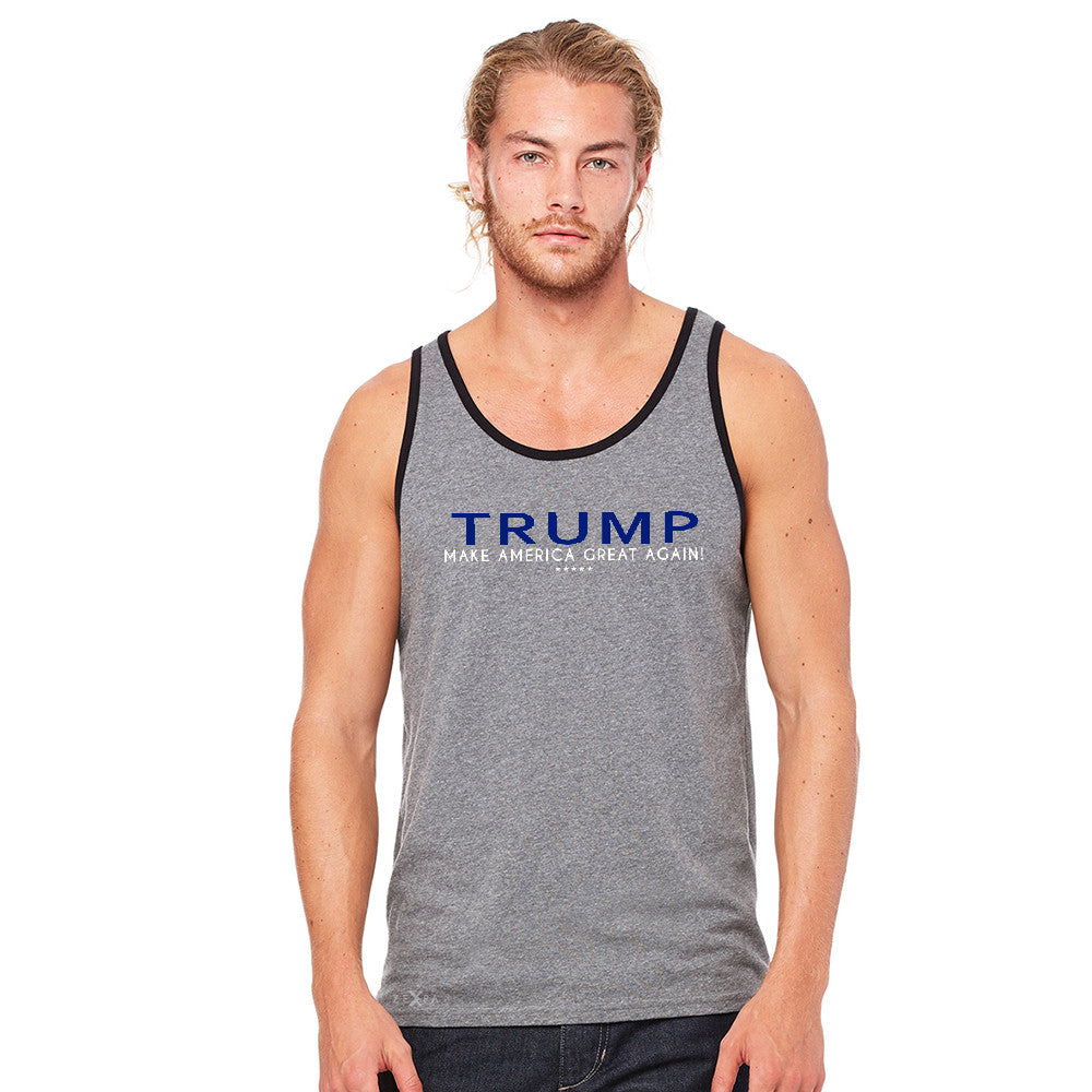 Donald Trump Make America Great Again Campaign Classic Design Men's Jersey Tank Elections Sleeveless - Zexpa Apparel Halloween Christmas Shirts