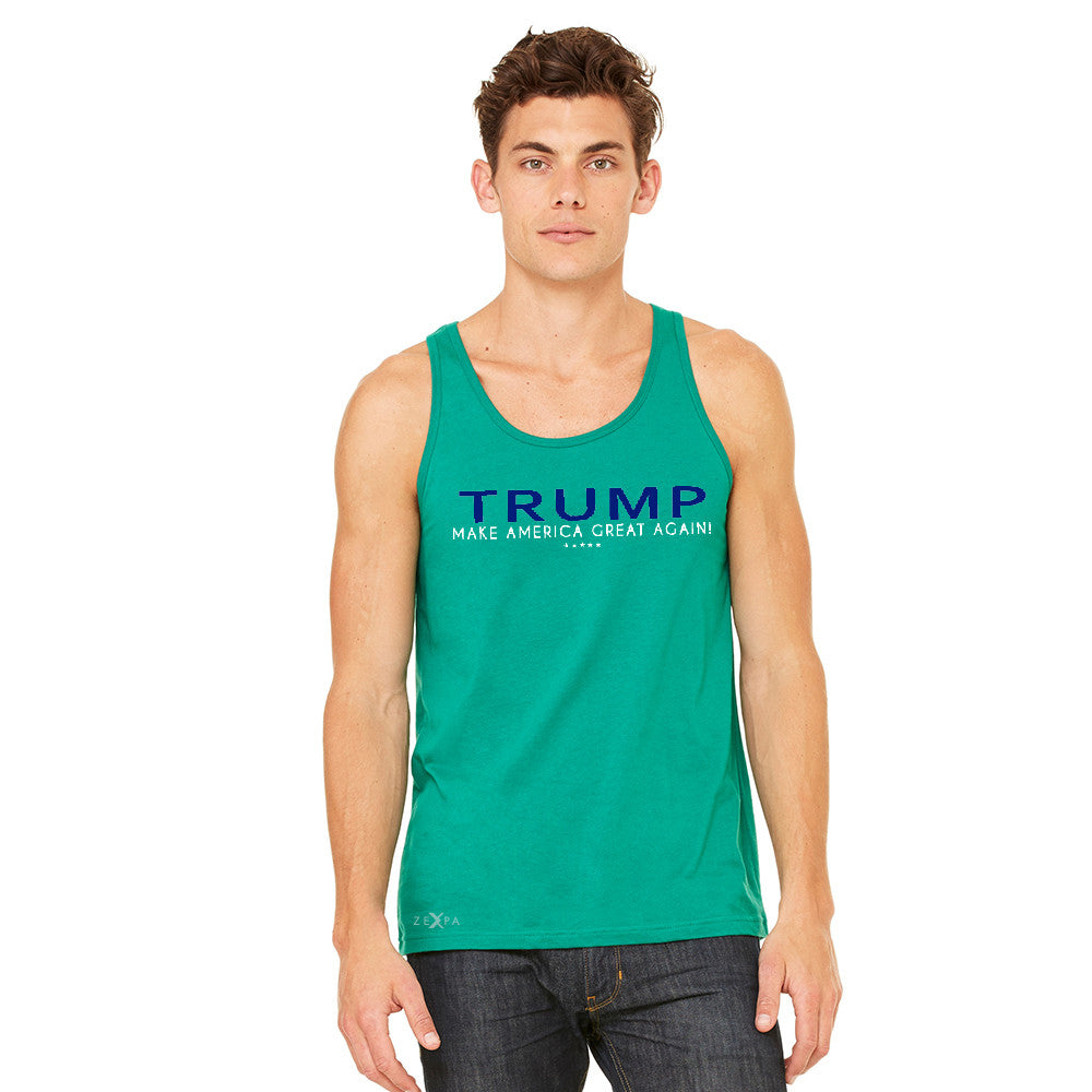 Donald Trump Make America Great Again Campaign Classic Design Men's Jersey Tank Elections Sleeveless - Zexpa Apparel - 8