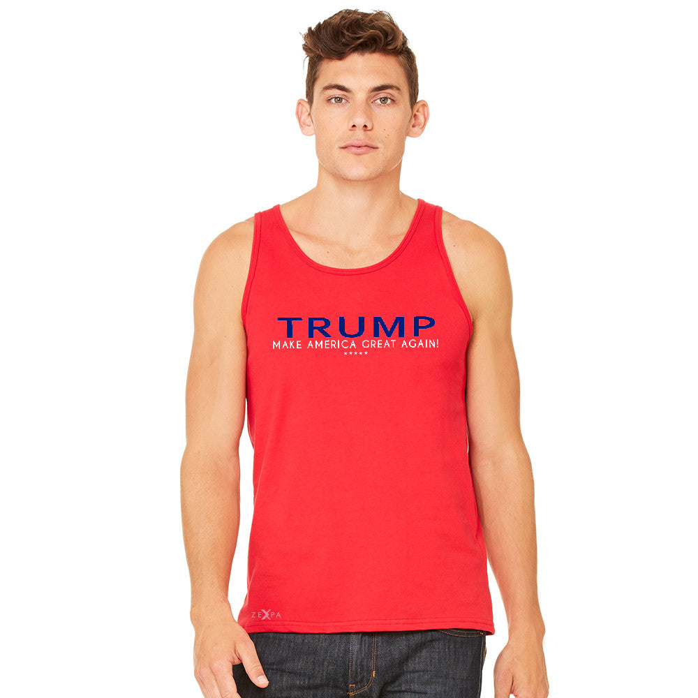 Donald Trump Make America Great Again Campaign Classic Design Men's Jersey Tank Elections Sleeveless - Zexpa Apparel - 9