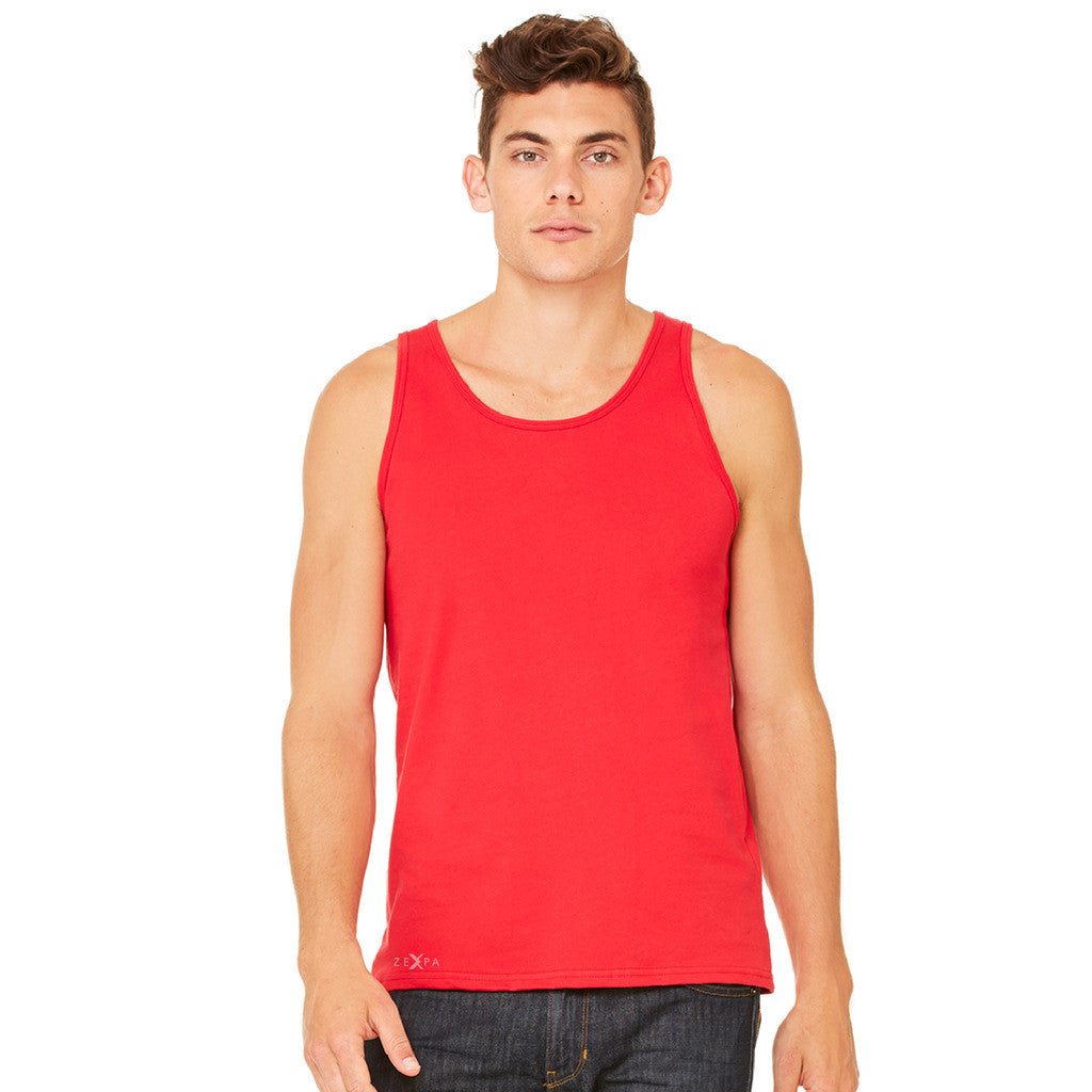 Donald Trump Make America Great Again Campaign Classic Navy Red Design Men's Jersey Tank Elections Sleeveless - Zexpa Apparel Halloween Christmas Shirts