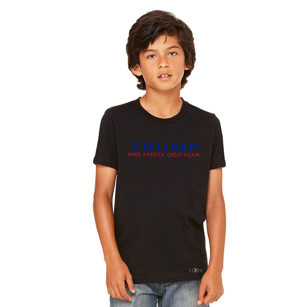 Donald Trump Make America Great Again Campaign Classic Navy Red Design Youth T-shirt Elections Tee - Zexpa Apparel