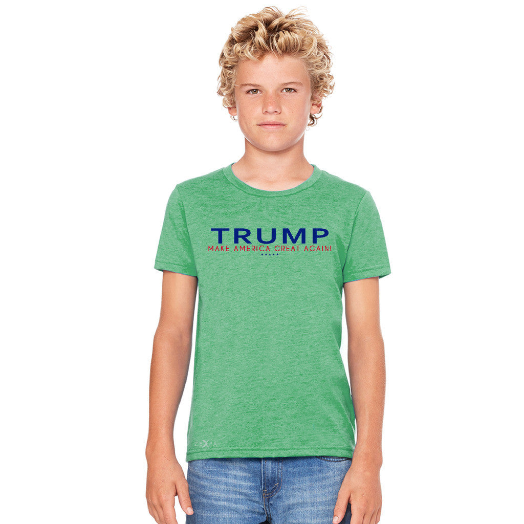 Donald Trump Make America Great Again Campaign Classic Navy Red Design Youth T-shirt Elections Tee - Zexpa Apparel - 4