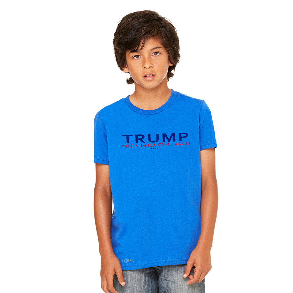 Donald Trump Make America Great Again Campaign Classic Navy Red Design Youth T-shirt Elections Tee - Zexpa Apparel - 7