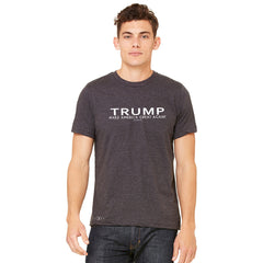 Donald Trump Make America Great Again Campaign Classic White Design Men's T-shirt Elections Tee - zexpaapparel - 3