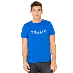 Donald Trump Make America Great Again Campaign Classic White Design Men's T-shirt Elections Tee - zexpaapparel - 10
