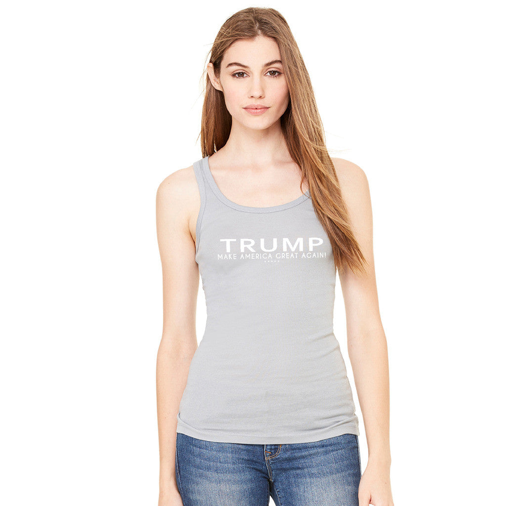 Donald Trump Make America Great Again Campaign Classic White Design Women's Tank Top Elections Sleeveless - Zexpa Apparel