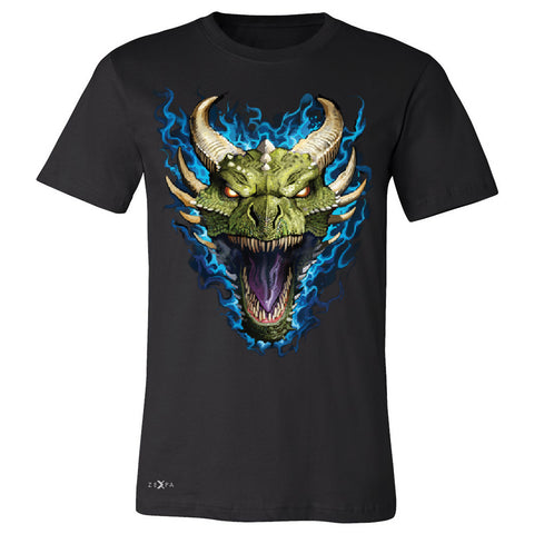 Angry Dragon Face Men's T-shirt Cool GOT Ball Thronies Tee - Zexpa Apparel Halloween Christmas Shirts