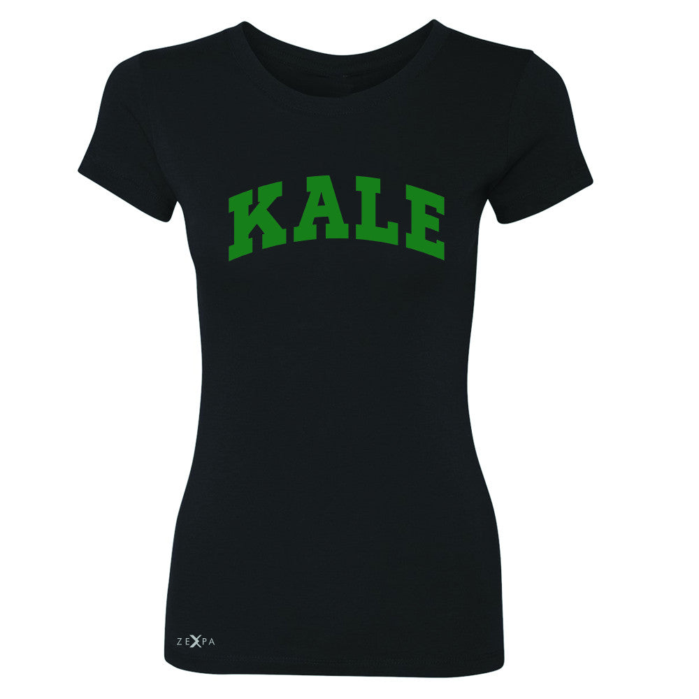 Kale GN University Gift for Vegetarian Women's T-shirt Vegan Fun Tee - Zexpa Apparel - 1