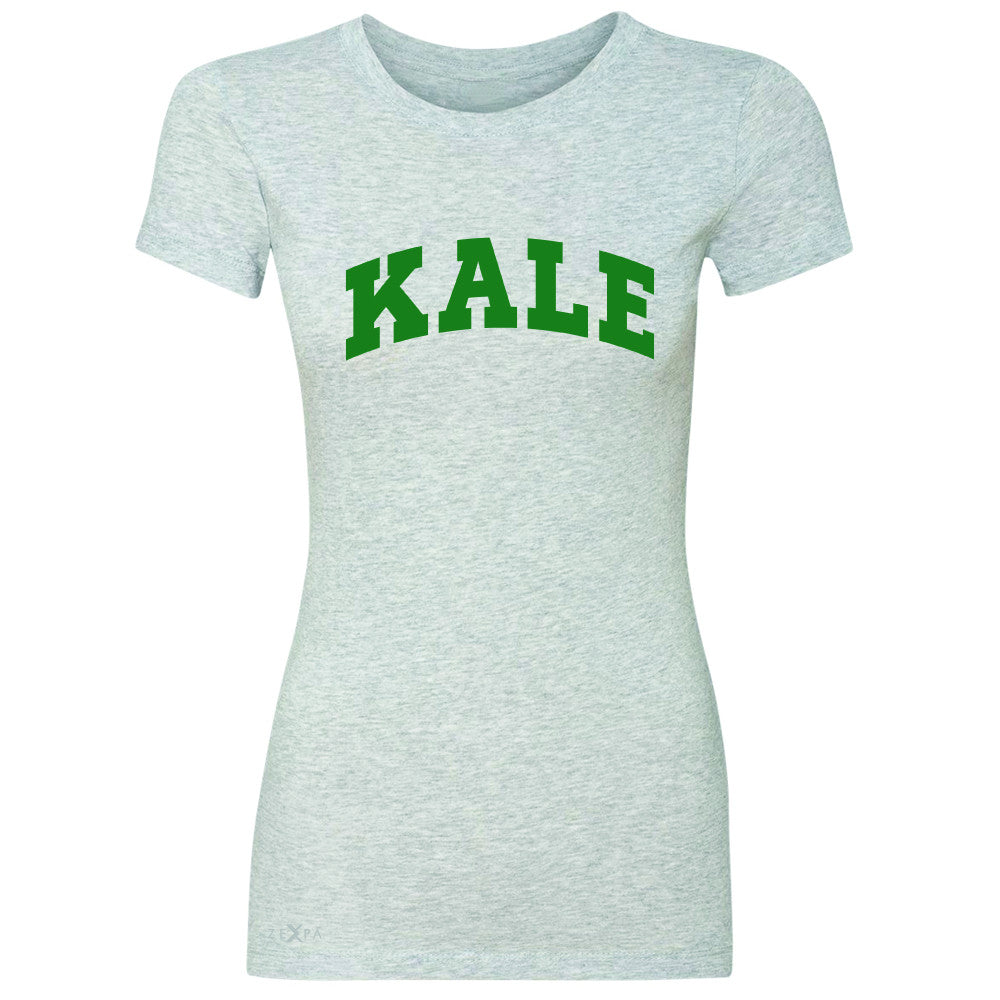 Kale GN University Gift for Vegetarian Women's T-shirt Vegan Fun Tee - Zexpa Apparel