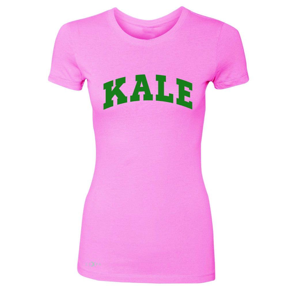 Kale GN University Gift for Vegetarian Women's T-shirt Vegan Fun Tee - Zexpa Apparel - 3