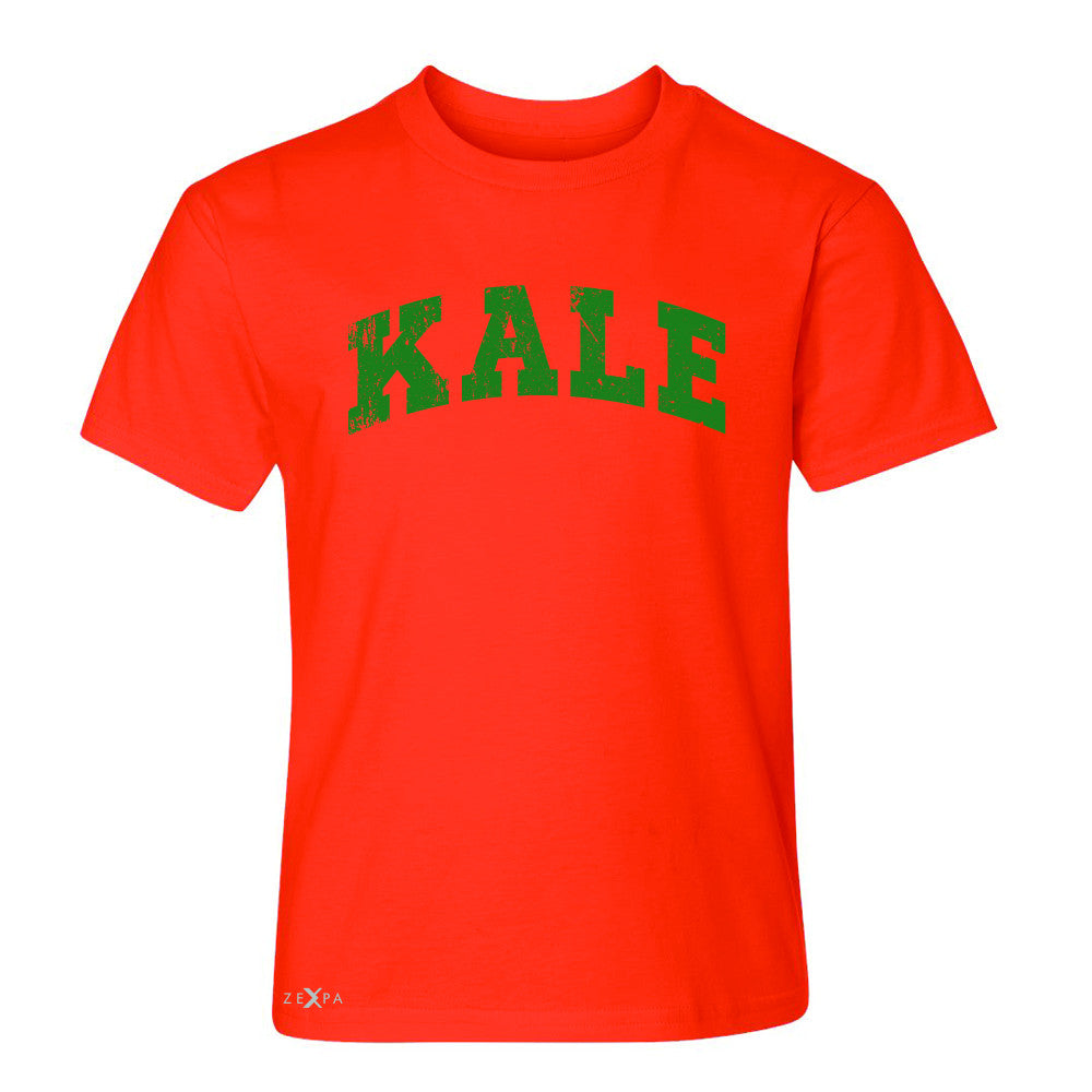 Kale G University Gift for Vegetarian Youth T-shirt Vegan Fun Tee - Zexpa Apparel