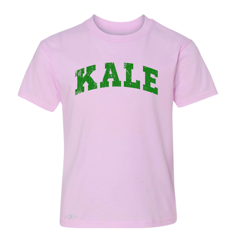 Kale G University Gift for Vegetarian Youth T-shirt Vegan Fun Tee - Zexpa Apparel - 3