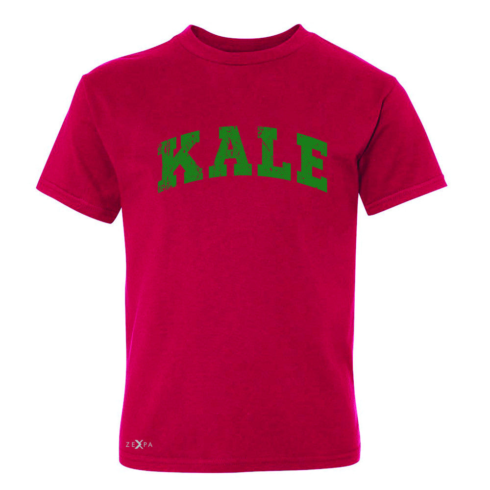 Kale G University Gift for Vegetarian Youth T-shirt Vegan Fun Tee - Zexpa Apparel - 4