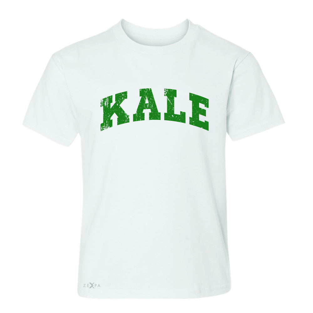 Kale G University Gift for Vegetarian Youth T-shirt Vegan Fun Tee - Zexpa Apparel - 5