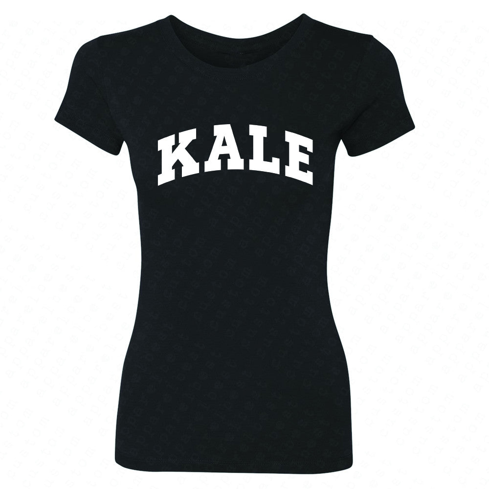 Kale WN University Gift for Vegetarian Women's T-shirt Vegan Fun Tee - Zexpa Apparel - 1