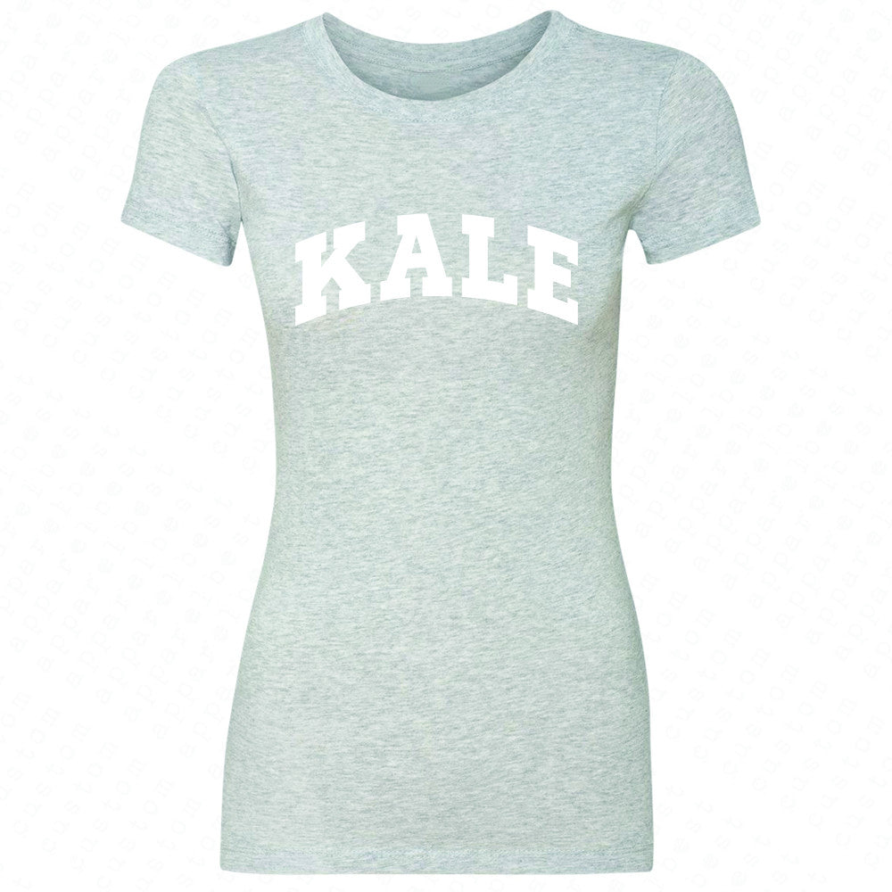 Kale WN University Gift for Vegetarian Women's T-shirt Vegan Fun Tee - Zexpa Apparel - 2