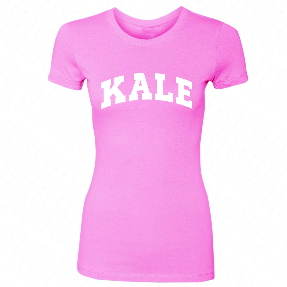 Kale WN University Gift for Vegetarian Women's T-shirt Vegan Fun Tee - Zexpa Apparel - 3