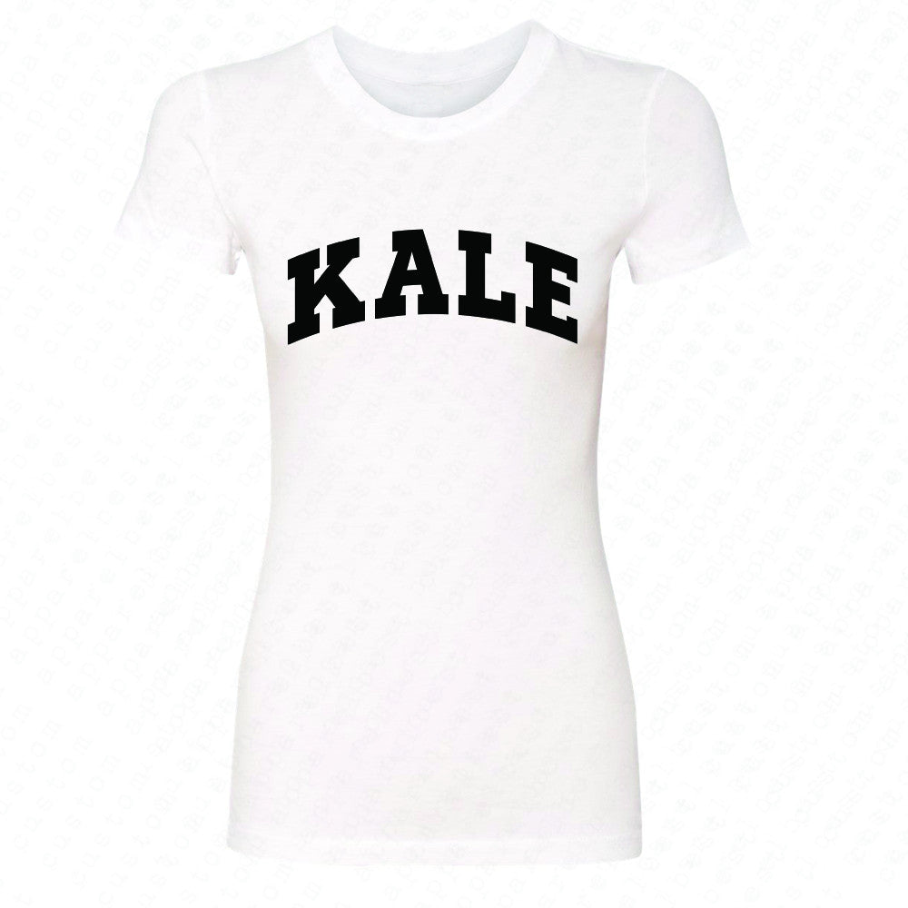 Kale WN University Gift for Vegetarian Women's T-shirt Vegan Fun Tee - Zexpa Apparel - 5