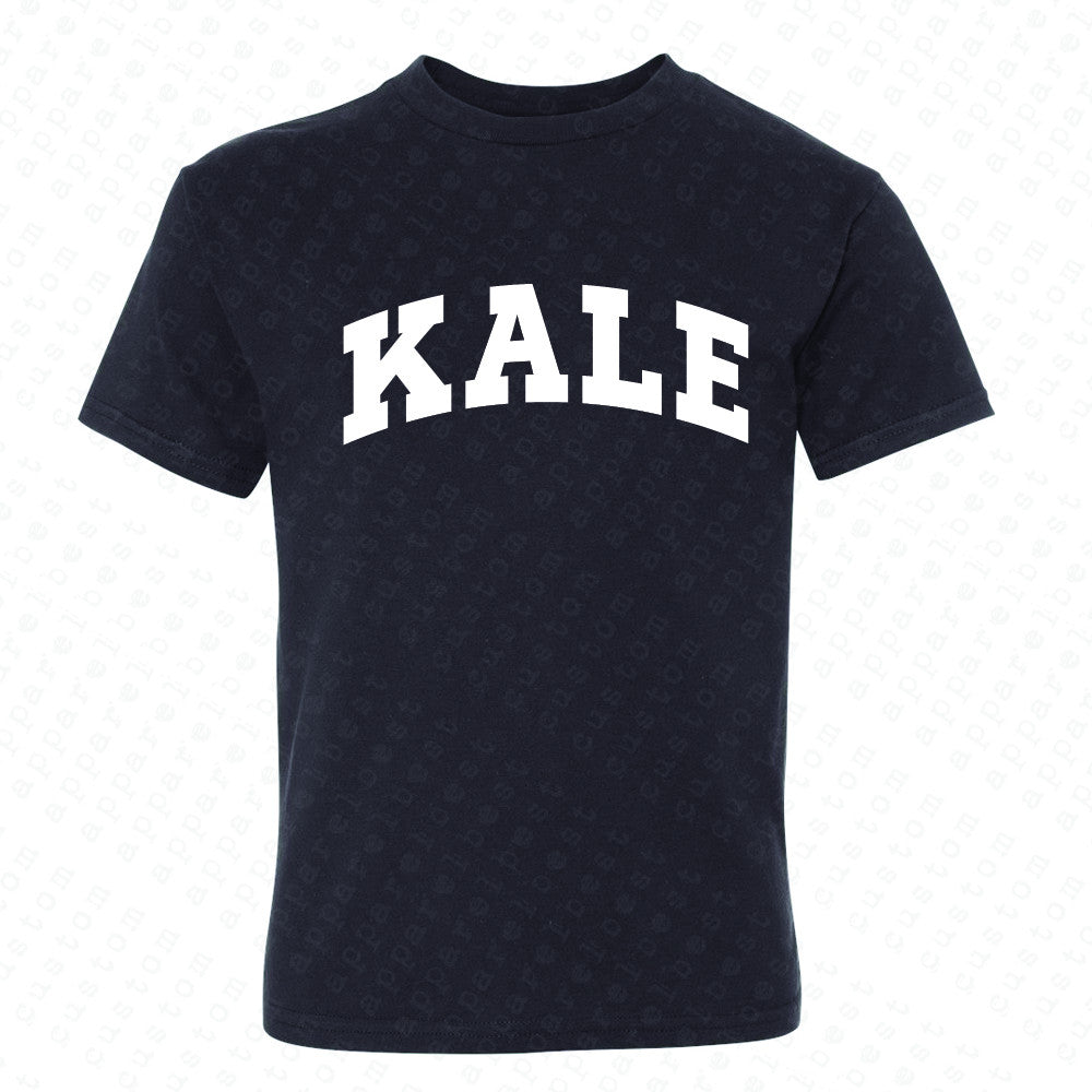 Kale WN University Gift for Vegetarian Youth T-shirt Vegan Fun Tee - Zexpa Apparel - 1