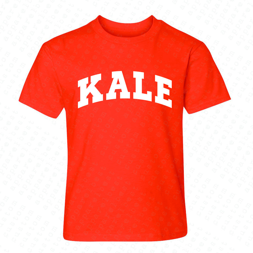 Kale WN University Gift for Vegetarian Youth T-shirt Vegan Fun Tee - Zexpa Apparel - 2