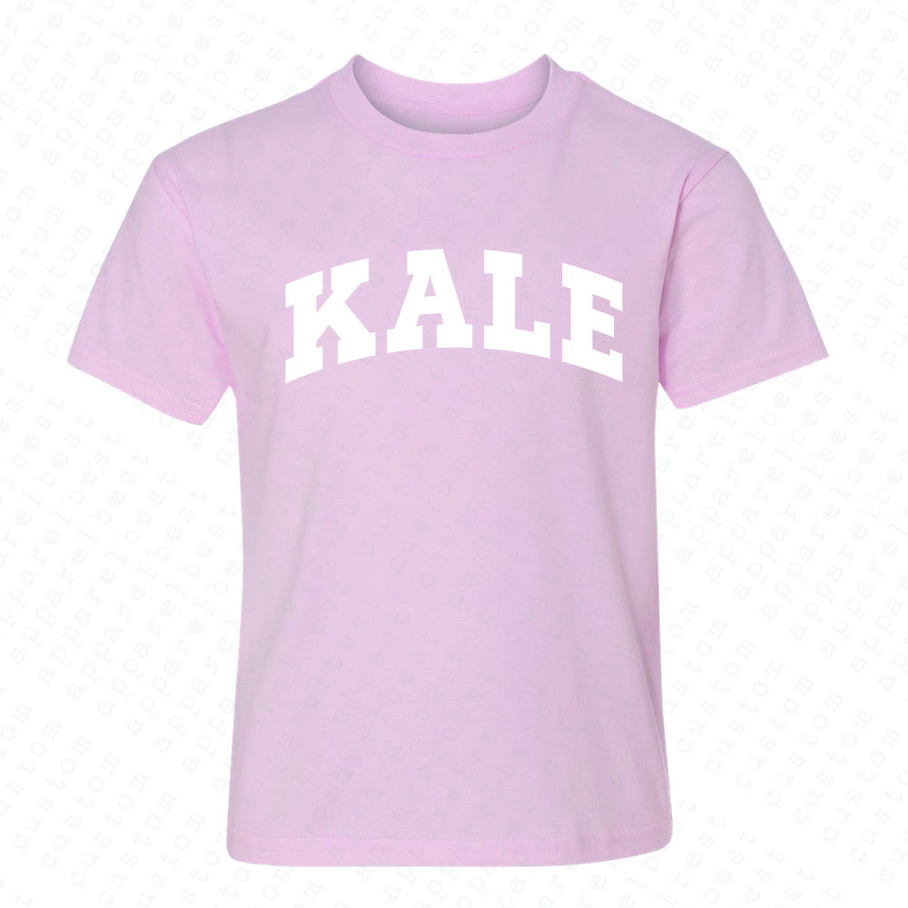 Kale WN University Gift for Vegetarian Youth T-shirt Vegan Fun Tee - Zexpa Apparel - 3