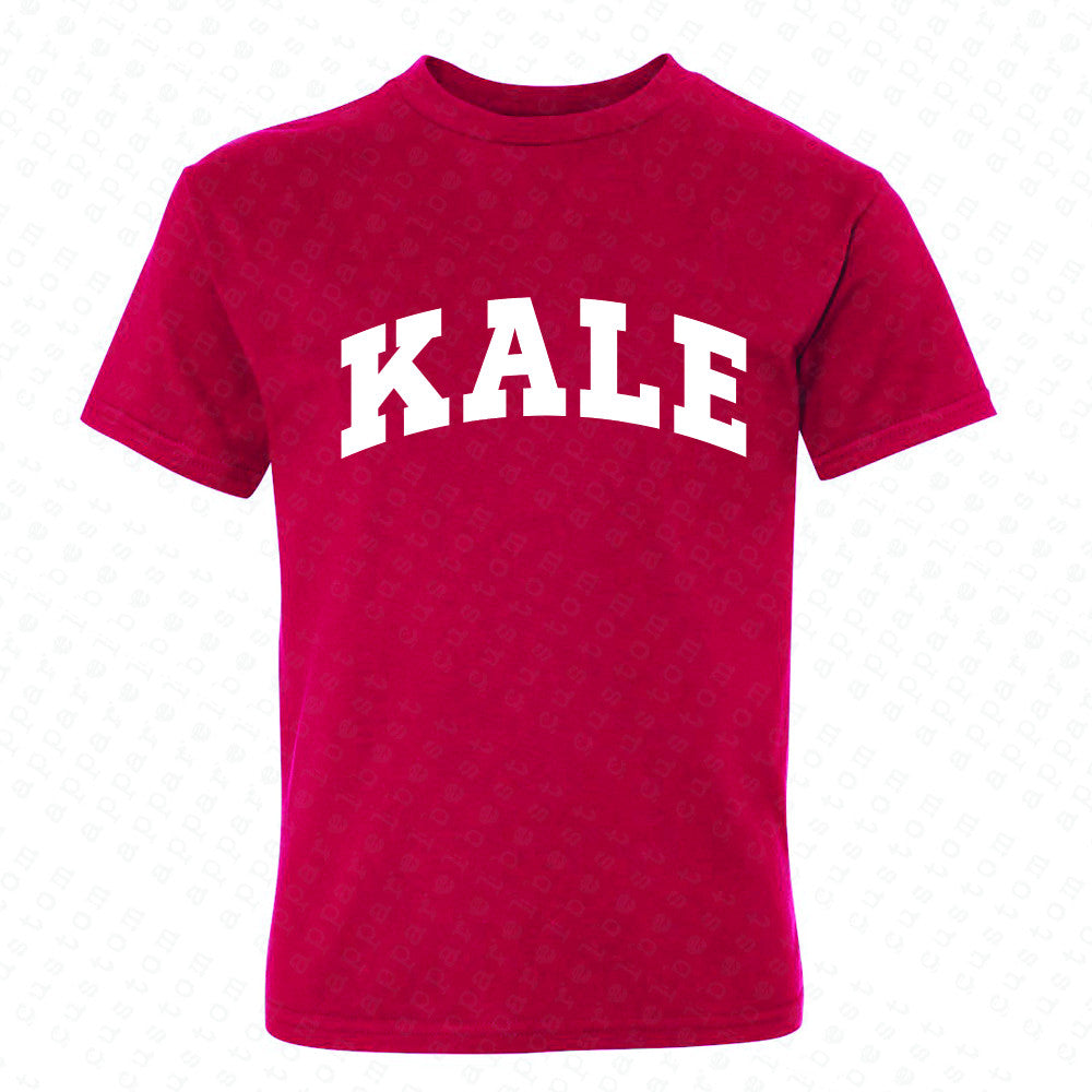 Kale WN University Gift for Vegetarian Youth T-shirt Vegan Fun Tee - Zexpa Apparel - 4