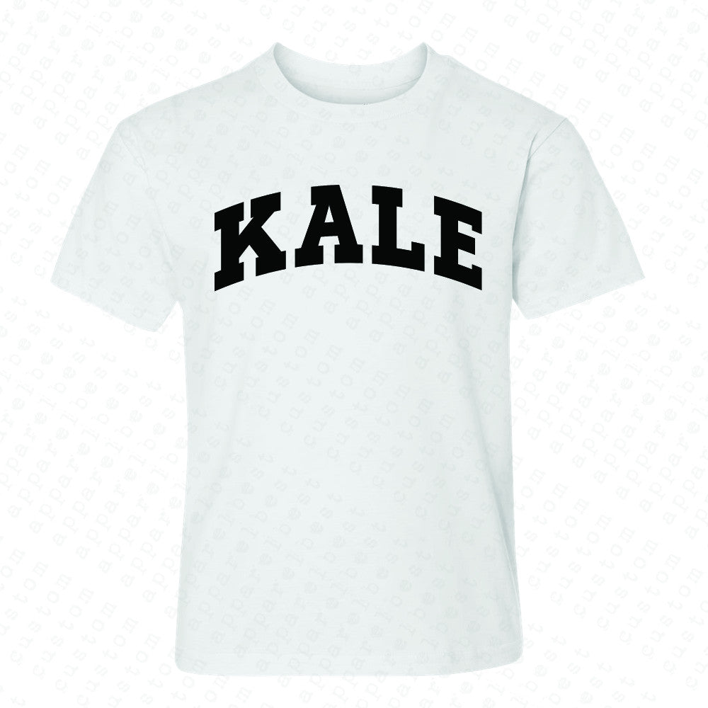 Kale WN University Gift for Vegetarian Youth T-shirt Vegan Fun Tee - Zexpa Apparel - 5