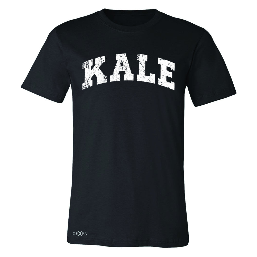 Kale W University Gift for Vegetarian Men's T-shirt Vegan Fun Tee - Zexpa Apparel